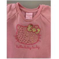 Conjunto Infantil Moletom Hello Kitty - 3 a 6 meses - Hello  Kitty