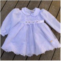 Vestido infantil branco Rociclê