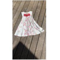 Vestido infantil floral 2 anos - 2 anos - Kiki Xodó