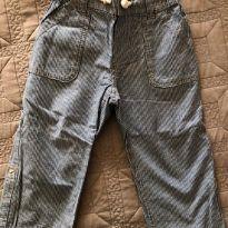 Calça com elástico e cordão no cós - 9 a 12 meses - H&M