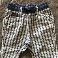 Shorts Xadrez H&M - 12 a 18 meses - LOGG da H&M