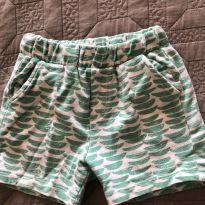 Shorts Estampado Zara - 12 a 18 meses - Zara Baby