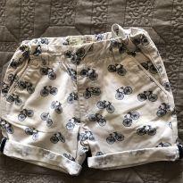 Shorts Zara Bicicletinha - 12 a 18 meses - Zara Baby