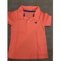 Camiseta Polo Carter's - 2 anos - Carter`s