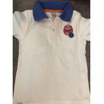 Camiseta Polo Piquet - 3 anos - Baby Classic