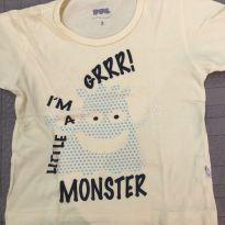 Camiseta estampada - 2 anos - PUC