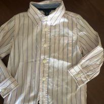 Camisa listrada Baby Gap - 4 anos - Baby Gap