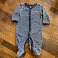 Macacao blue - 0 a 3 meses - Carter`s