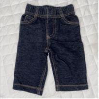 Jeans fake - 3 a 6 meses - Carter`s