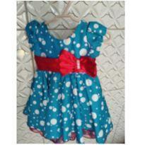 Vestido de Festa Galinha Pintadinha - 12 a 18 meses - Bambina Fashion