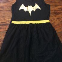 Fantasia pijama batgirl - 10 anos - DC Comics