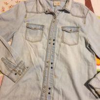 Camisa jeans - 9 anos - Zara