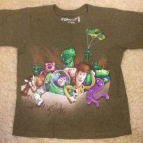 Camiseta toy story - 4 anos - Disney