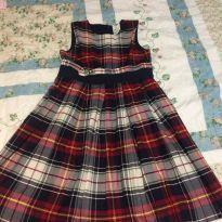 Vestido xadrez oshkosh - 8 anos - OshKosh