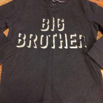 Camiseta manga longa Carter s - 4 anos - Carter`s