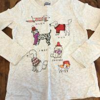 Camiseta  manga longa Oshkosh Originals - 10 anos - OshKosh