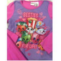 Pijama em fleece - 11 anos - Shopkins