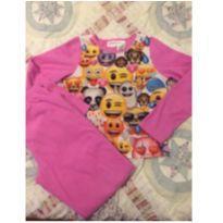 Pijama em fleece - 11 anos - Importada