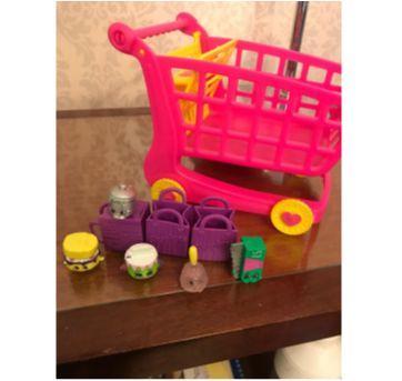 Carrinho de compras Shopkins - Sem faixa etaria - DTC