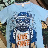 Camiseta tigre - 6 anos - Costão
