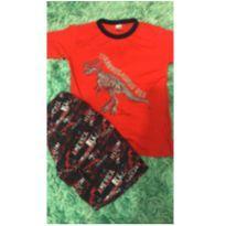 Conjunto dinossauro - 7 anos - Cleomara