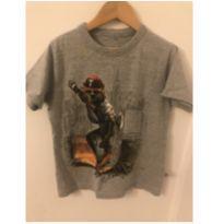 Camiseta Urso no skate - 6 anos - Kiko