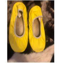 Sapatilha amarela - 35 - Sem marca