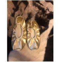 Sapatilha dourada - 36 - Sem marca