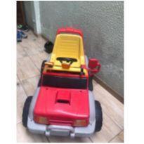 Veículo Elétrico Peg Pérego 6 V Vermelho E Amarelo