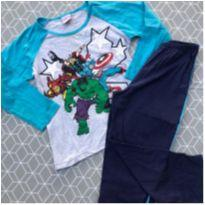 pijama Marvel - 6 anos - MARVEL