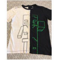 Camiseta Minecraft original - 8 anos - mojang