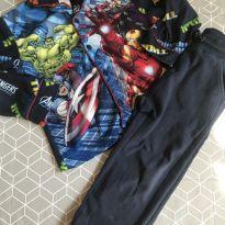 Pijama Marvel - 5 anos - MARVEL