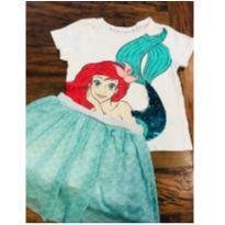 Fantasia Ariel - 4 anos - Disney