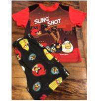 Pijama Angry birds - 4 anos - Angry Birds