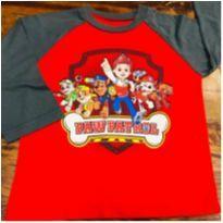 Camiseta PAtrulha Canina - 4 anos - nickelodeon
