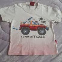 Camiseta carro - 9 a 12 meses - Kyly