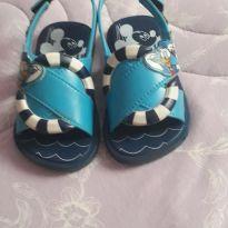 Sandália Mickey marinheiro - 19 - Grendene