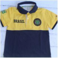 Polo brasileirissima - 4 anos - Tommy Hilfiger