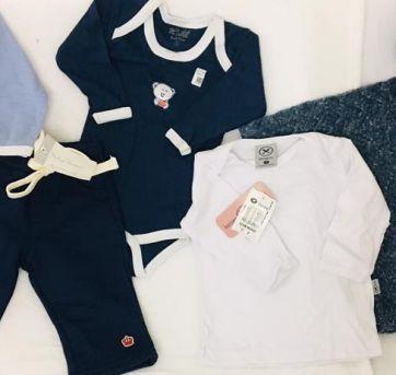 Lote Roupa Bebe Menino Inverno Barato Diversas Marcas Ninni Bambini Hering Krtel - 3 a 6 meses - Nini e Bambini e Baby Classic
