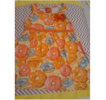 vestido dunuts - 1 ano - Kyly