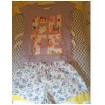 conjuntinho  lilás - 12 a 18 meses - Kidstok