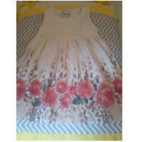 vestido creme - 12 a 18 meses - KAIANI