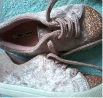 Sapato Rosa com glíter - 22 - Pool Kids