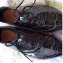 Sapato preto verniz - 36 - Bebecê