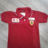 Camisa polo Ferrari tam 2 - 2 anos - Não informada ( Replica)
