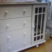 Cômoda para quarto de criança - Sem faixa etaria - Não informada