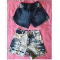 Shortinho Jeans - 2 unidades - 5 anos - Cia Kids