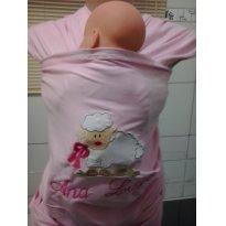 Wrap Sling Canguru, bordado e personalizado -  - Sling Mamãe e Bebê