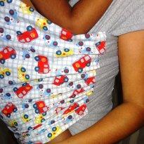 Wrap Sling Canguru, estampado -  - Sling Mamãe e Bebê