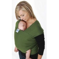 Wrap Sling Canguru, Verde Musgo, 100% Algodão - Sem faixa etaria - Sling Mamãe e Bebê